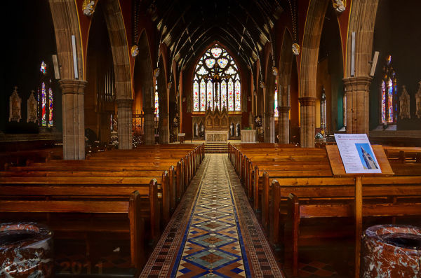 St. Mary's RC cathedral Newcastle upon Tyne