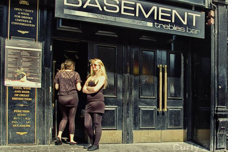 Basement bar, Newcastle-upon-Tyne