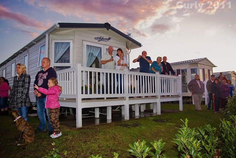 Sandhaven caravan park, South Shields