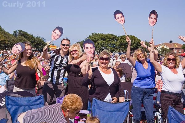 Joe McElderry concert, South Shields