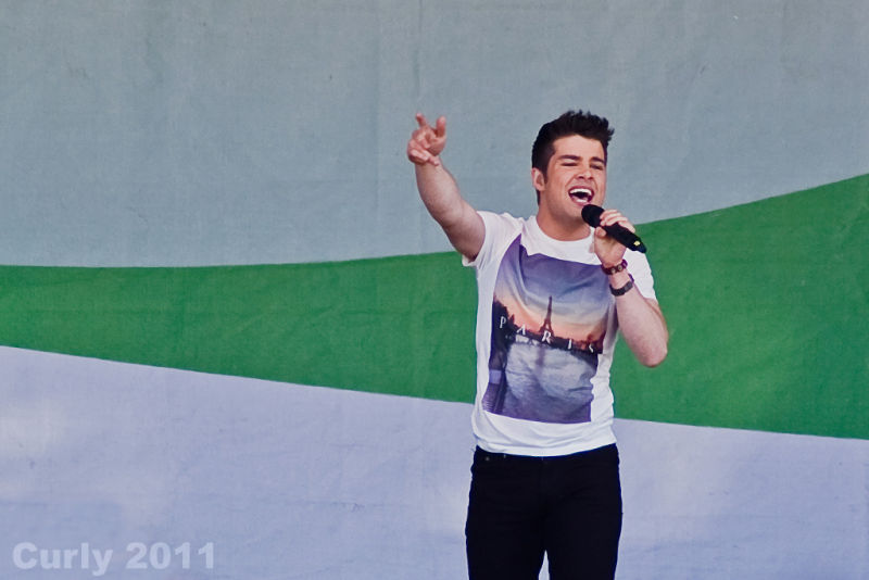 Joe McElderry, Bents Park, South Shields