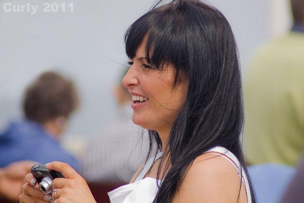 Girl at Sunderland International Air Show
