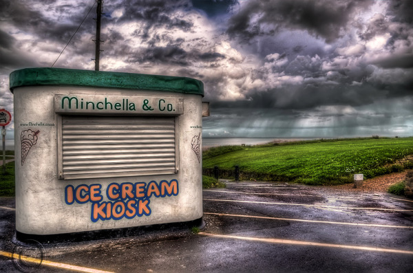 Ice cream kiosk, Marsden, South Shields