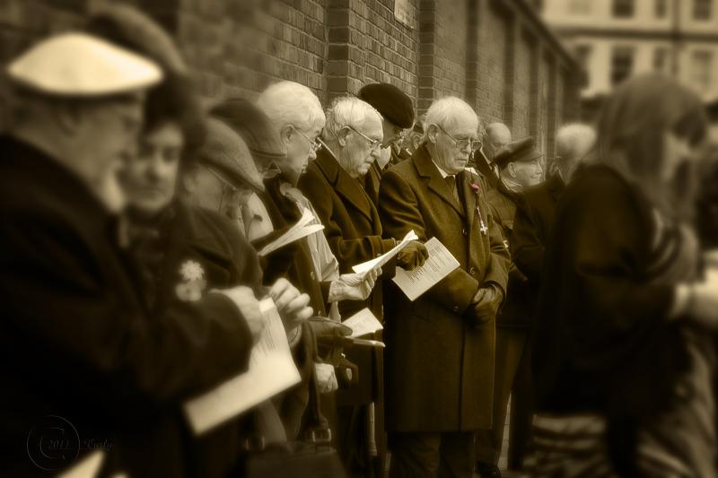 Armistice Day, South Shields 2011