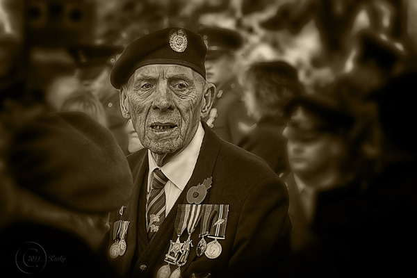 Remembrance Sunday, South Shields 2011