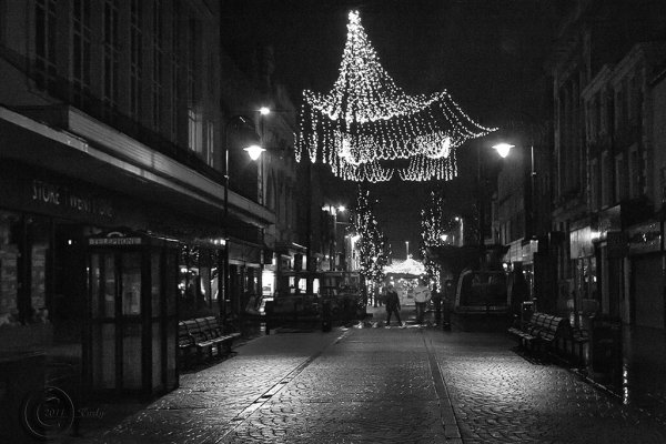King Street South Shields Christmas 2011