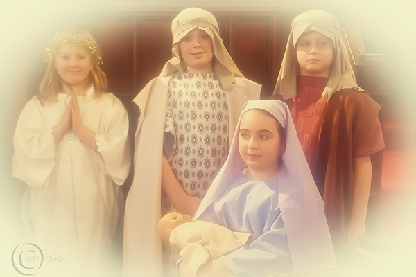 South Shields children's nativity play