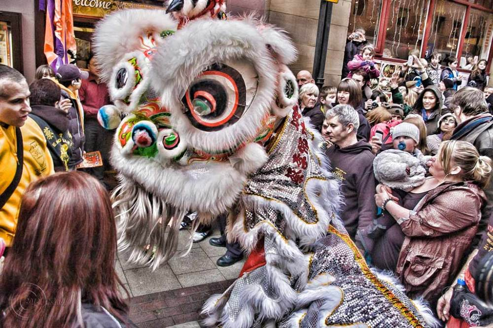 Chinese New Year 2012 Newcastle upon Tyne