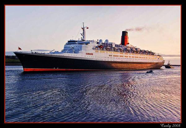 Queen Elizabeth ll arrives in South Shields