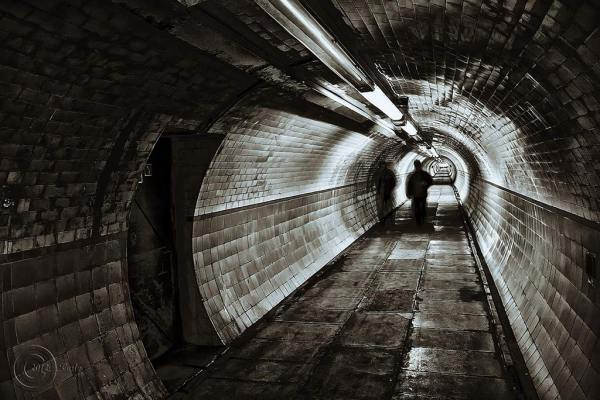 Tyne pedestrian tunnel , Jarrow.