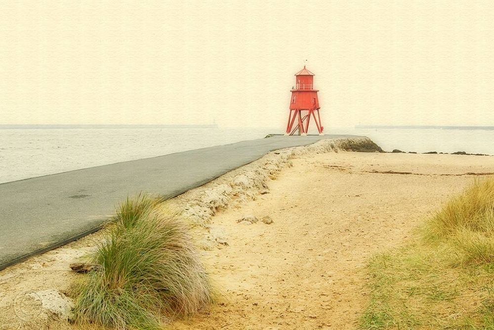 The Groyne pier, South Shields, orton,