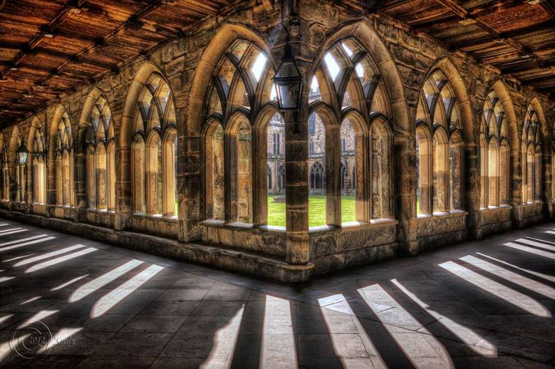 Durham Cathedral Cloisters Architecture Photos South