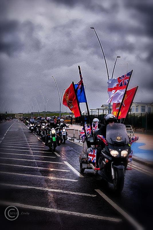 Badlanders MCC ride into South Shields