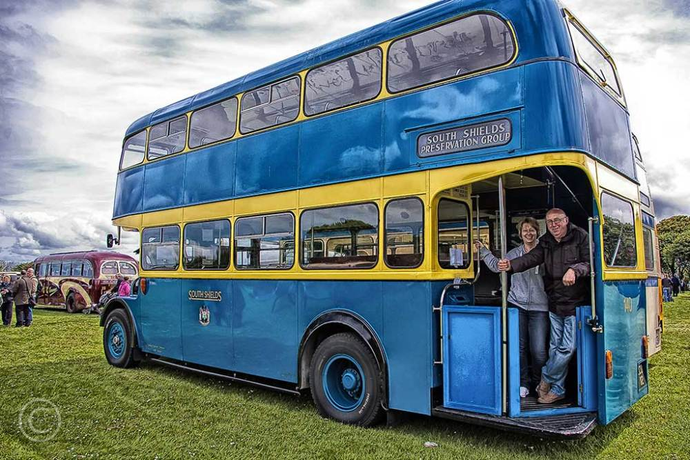 South Shields Corporation bus