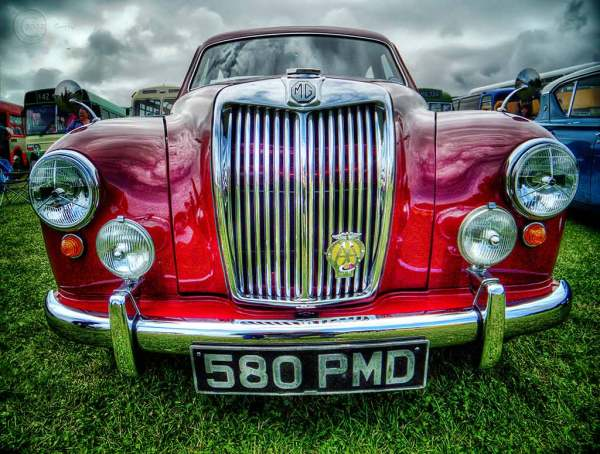 Old MG, Bents Park, South Shields