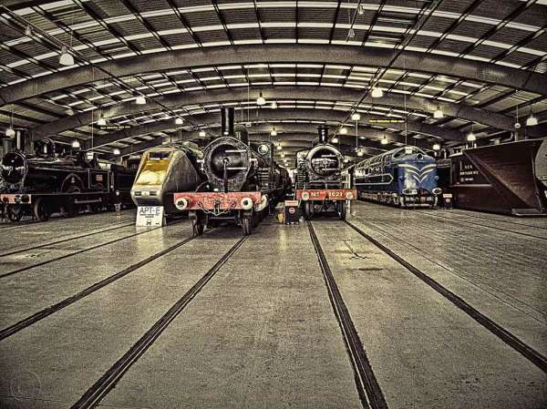 Trains, NRM (National Railway Museum) at Shildon