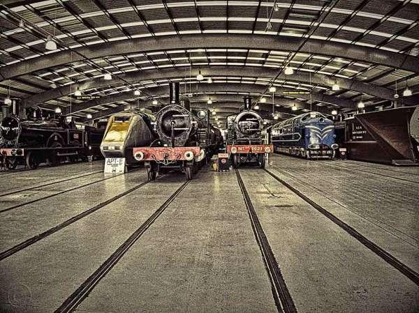 Trains, NRM (National Railway Museum) at Shildon