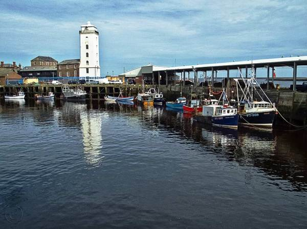 North Shields fish quay