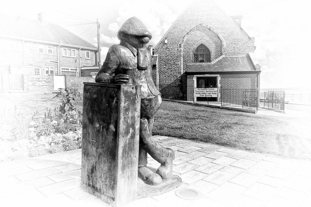 Andy Capp statue, Hartlepool