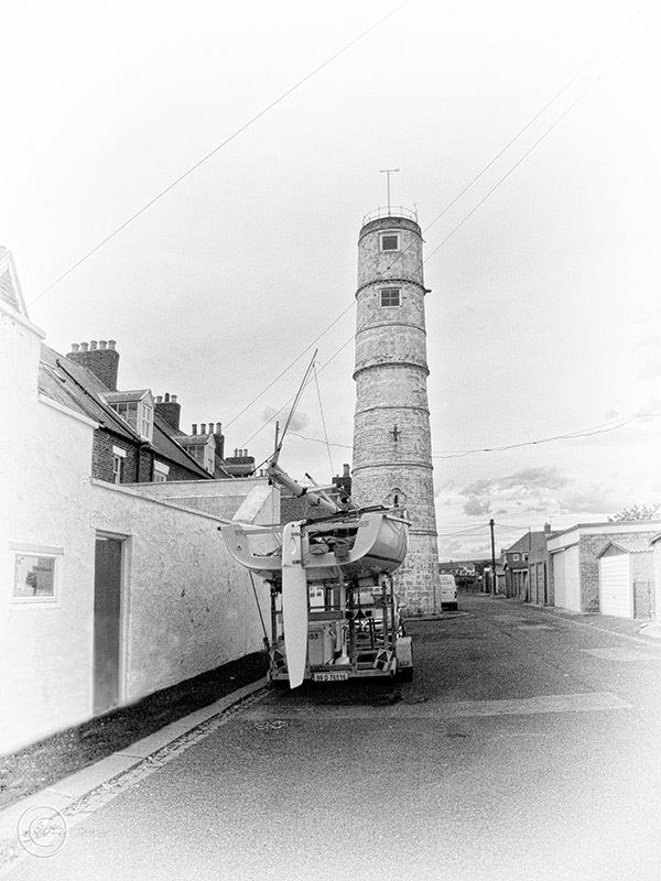Old lighthouse, Blyth, Northumberland