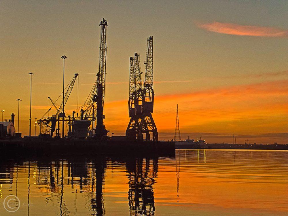 Tyne Dock, South Shields from Readhead's Landing