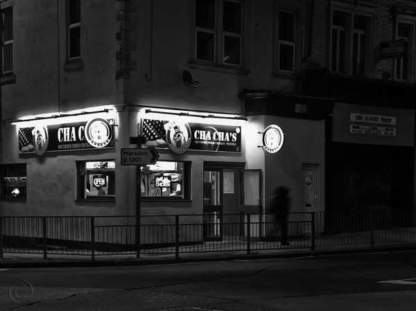 Cha Cha pizza shop, South Shields