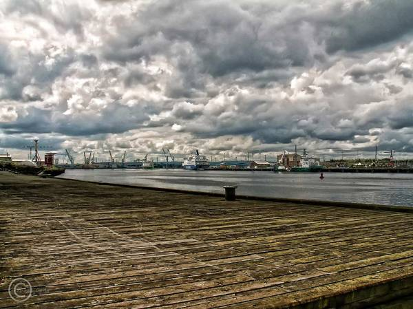 River Tyne at South Shields