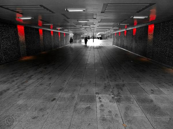 Pdestrian tunnel, Anderson Street, South Shields.