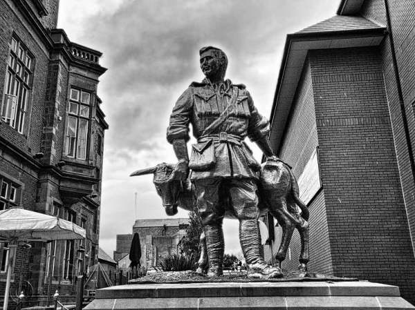 John Simpson Kirkpatrick statue South Shields