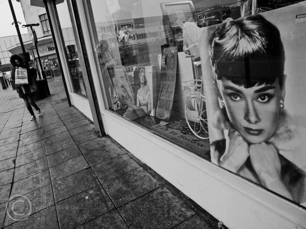 Shop window, South Shields Market Place