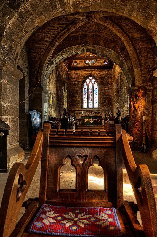 St. Paul's church, Jarrow, Tyne Wear