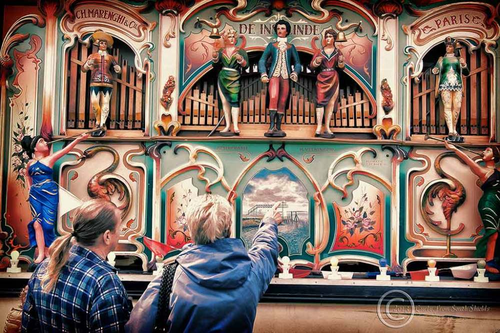 Marenghi organ in South Shields