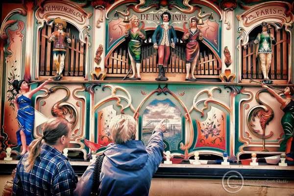Marenghi organ in South Shields