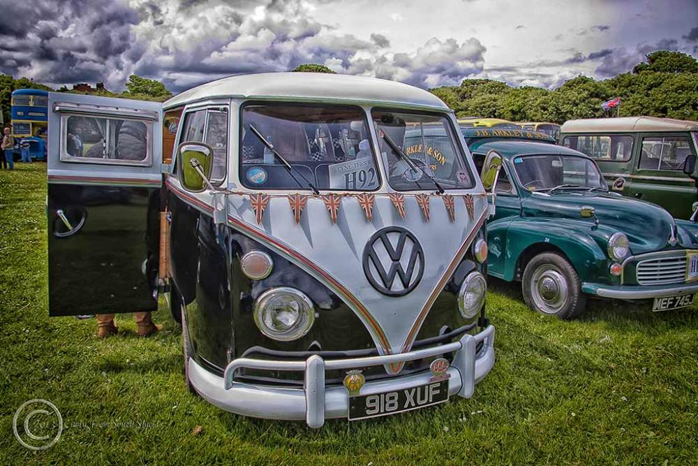 VW camper, South Shields