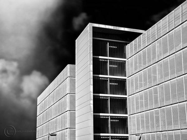 Car park, Freeman Hospital, Newcastle upon Tyne