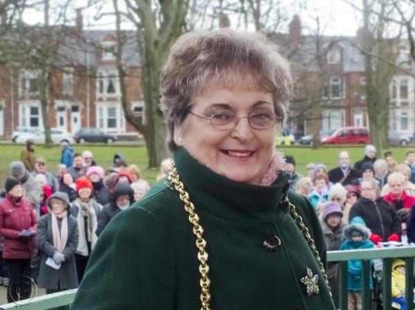 Mayor of South Tyneside Eilleen Leask