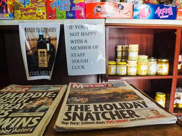 Willian Wight's shop, North Shields