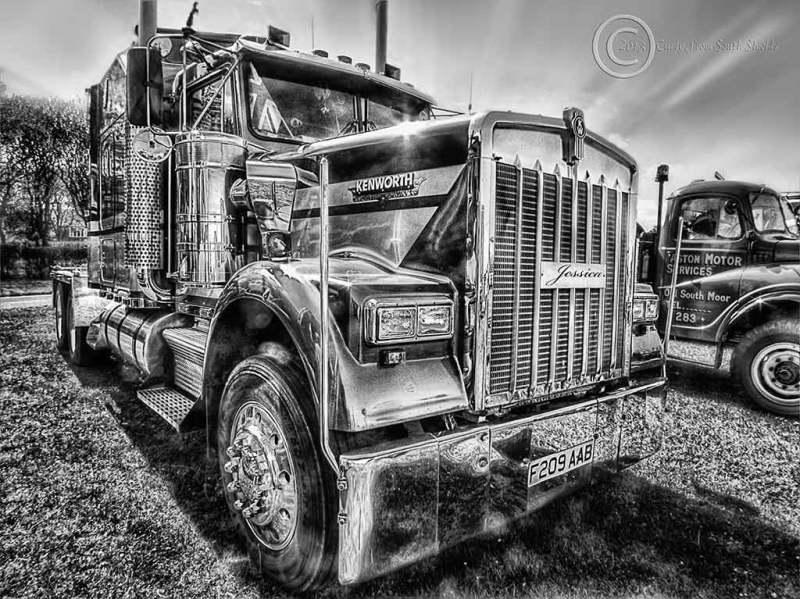 Truck, Bents Park, South Shields, UK, 2013