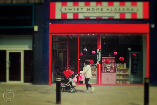 Sweet shop, Sunderland, Tyne Wear, UK