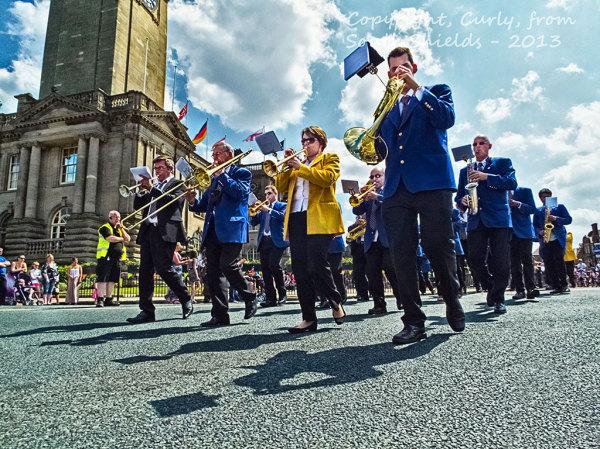 South Shields Summer Festival Parade 2013