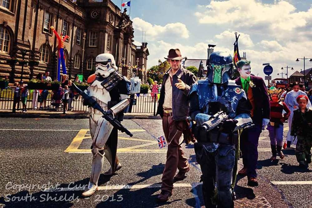 Summer Festival parade 2013, South Shields, UK