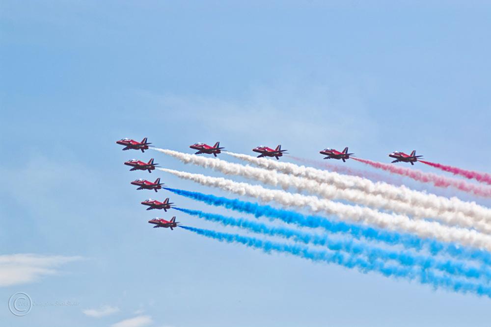 RAF Red Arrows, Sunderland 2013