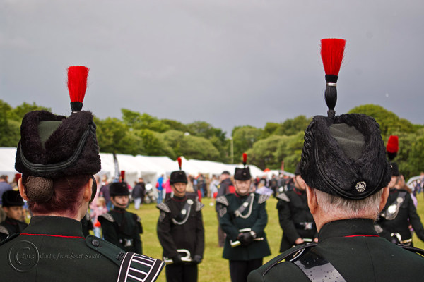 Northumberland Fusiliers, Bents Park, South Shield
