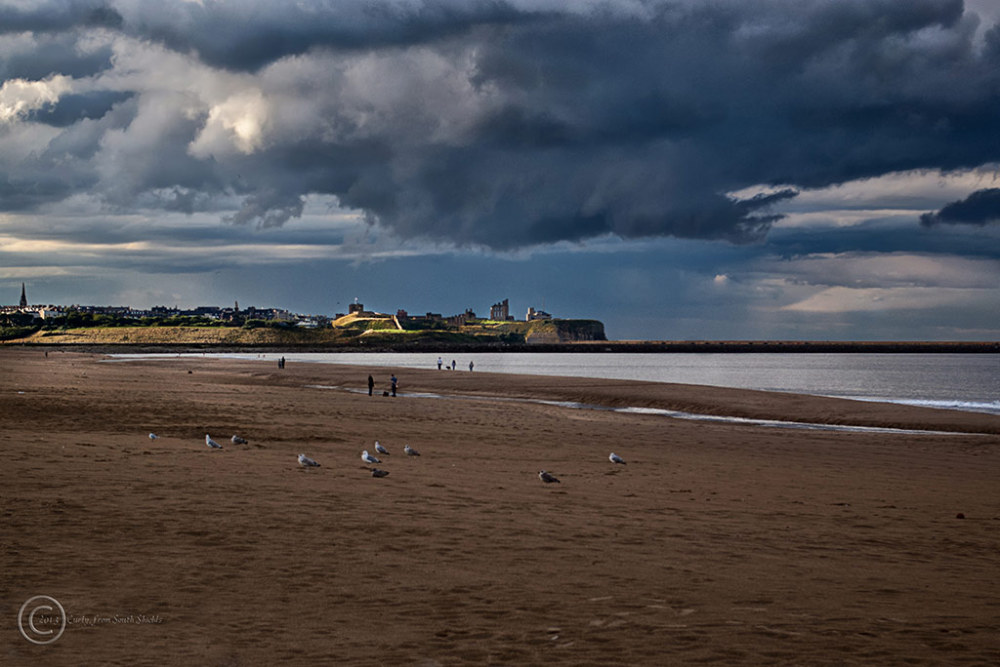 Sandhaven Beach, South Shields, UK