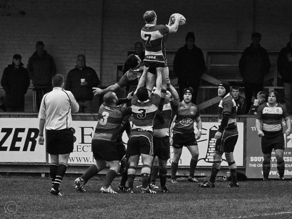Westoe RFC vs Waterloo, South Shields, UK