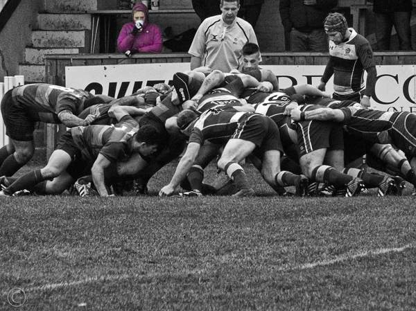 Westoe RFC vs Waterloo, South Shields UK