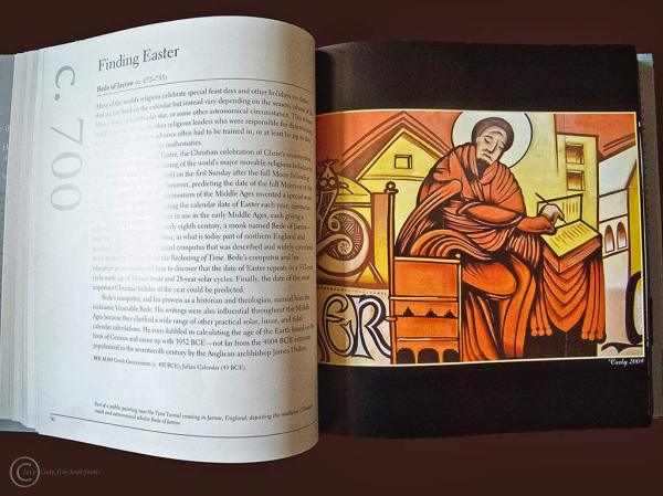 Bede of Jarrow in The Space Book, by Jim Bell