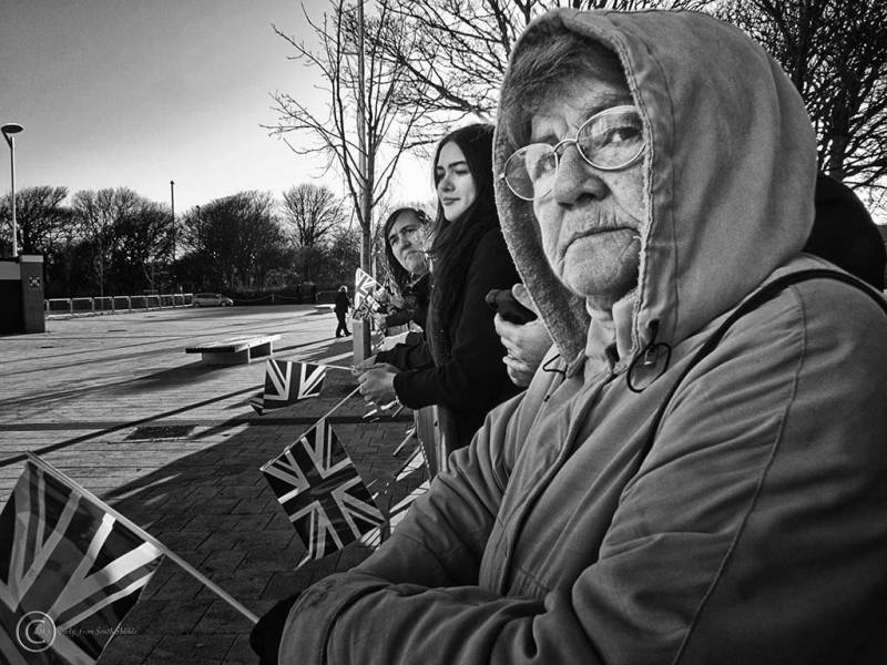 Waiting for  Prince William, South Shields