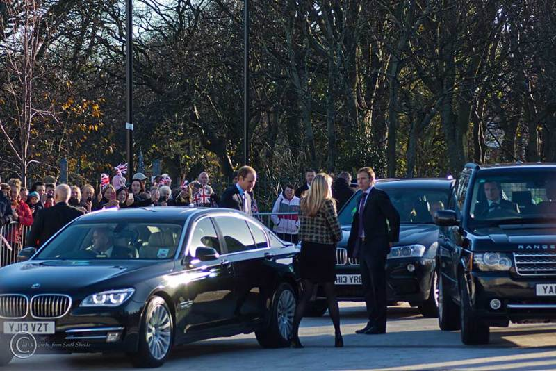 HRH Prince William the Duke of Cambridge in South