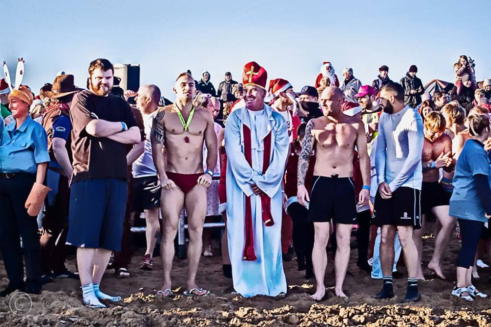 Boxing Day Dip, South Shields 2013